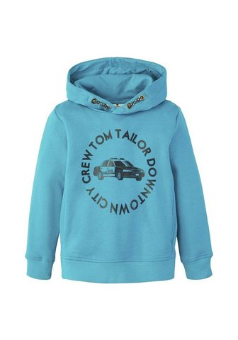 TOM TAILOR Sportinio stiliaus megztinis »Hoodie s...