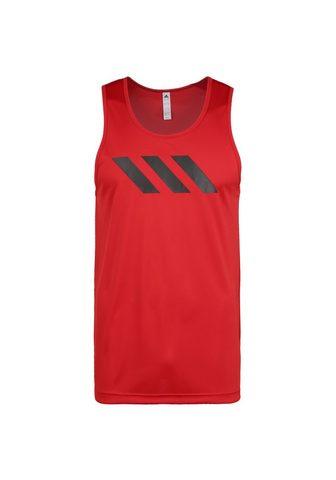 ADIDAS PERFORMANCE Marškinėliai »Sport 3-stripes«