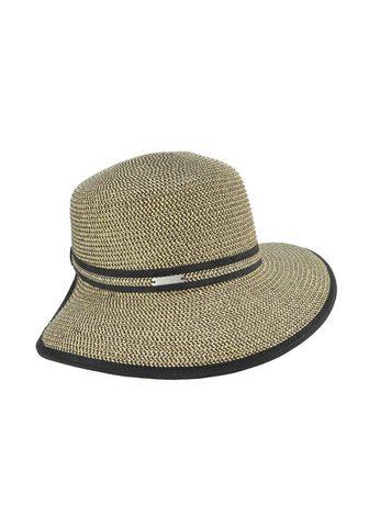 SEEBERGER šiaudinė skrybėlė »Schute su Ripsbandu...