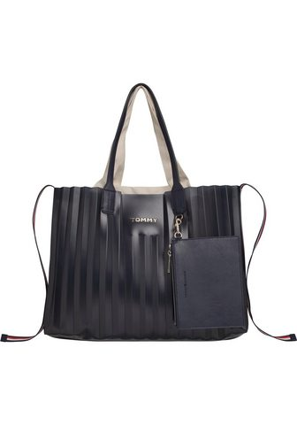 TOMMY HILFIGER Rankinė »ICONIC TOMMY TOTE PLISSE«