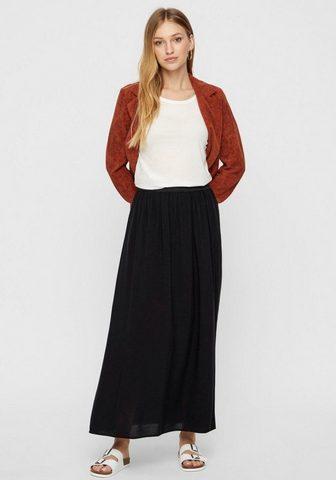 VERO MODA Maxi ilgio sijonas »VMBEAUTY Patrumpin...