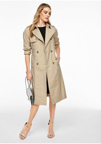 S.OLIVER BLACK LABEL Twill-Trenchcoat