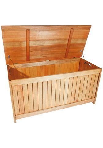 MERXX Auflagenbox Eukalyptusholz