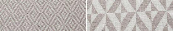 Teppich »Ylvie«  andas  rechteckig  Höhe 7 mm  Wendeteppich mit zwei Designs