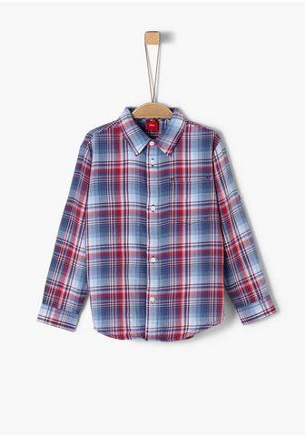 Twill-Hemd_für Jungen