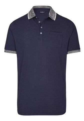 DANIEL HECHTER Struktur Polo marškinėliai Palaidinė
