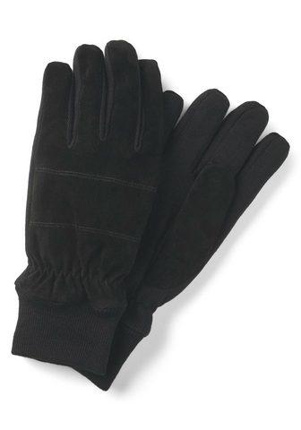 TOM TAILOR Baumwollhandschuhe »Handschuhe su Ripp...