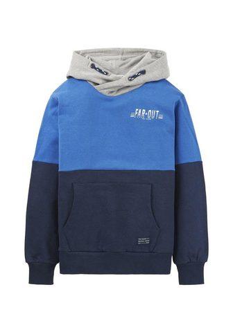 TOM TAILOR Sportinio stiliaus megztinis »Hoodie i...