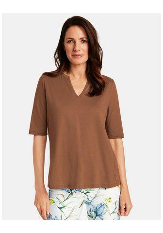 GERRY WEBER Marškinėliai 3/4 rankovės »Leicht plat...