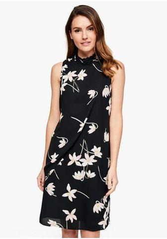 S.OLIVER BLACK LABEL High-Neck-Kleid