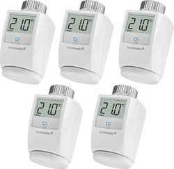 Homematic IP Heizkörperthermostat »5er Set«, (Set, 5 St)