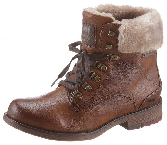 Mustang Shoes Winterboots im Used-Look