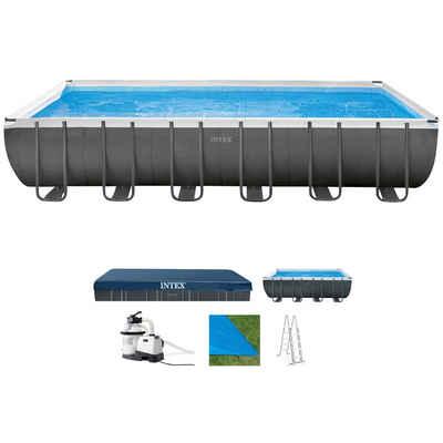 Intex Pool »Ultra XTR Frame« (Set), BxLxH: 366x732x132 cm