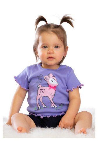 Baby-T-Shirt с süßem с узор...