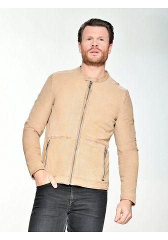 Куртка кожаная perforiert »Bruns...