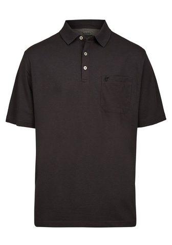 Softknit-Poloshirt с утонченный Streif...