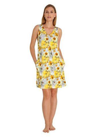 HAJO Freundliches suknelė su marginta gėlėm...