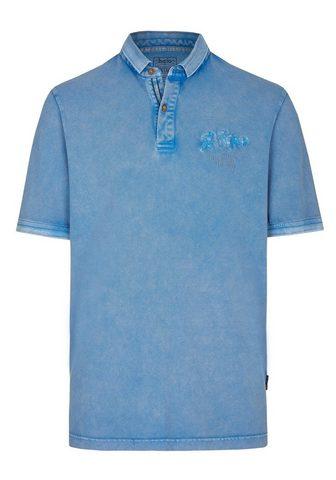 HAJO Washer-Poloshirt su apvadas