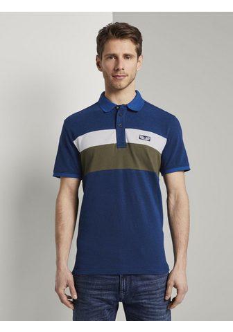 Кофта-поло »Poloshirt в Colorblo...