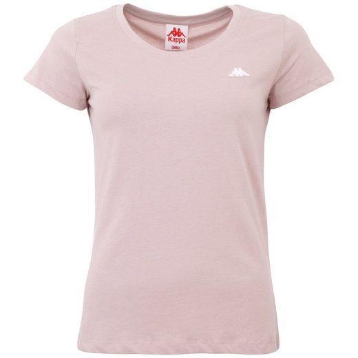 Kappa T-Shirt »HALINA« schlichtes Rundhalsshirt