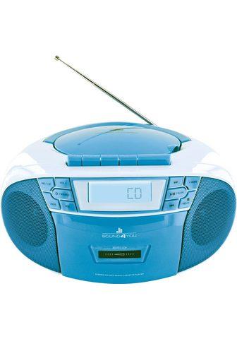 SCHWAIGER CD grotuvas su Radio FM Kasette MP3 US...