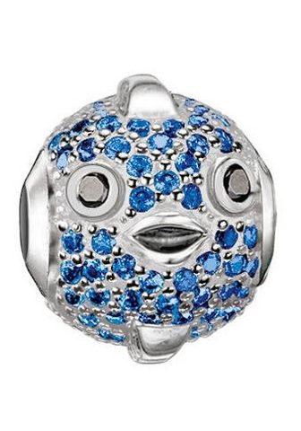 Бусинка »Blauer Kugelfisch Fugu ...