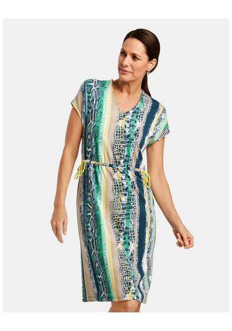 GERRY WEBER Suknelė trikotažinis »Suknelė su su ra...