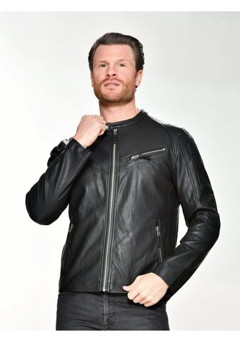 Куртка из искусственной кожи с воротни...