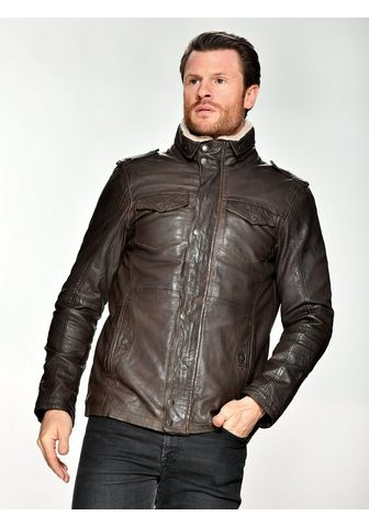 Куртка кожаная с Schulterklappe »...