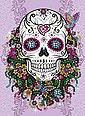MAMMUT Spiel und Geschenk Kreativset »Sequin Art Teen Craft - Flower Skull«, Bild 2