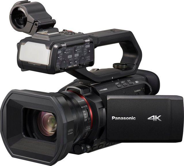 Lumix Panasonic »HC-X2000E« Camcorder (4K Ultra HD, WLAN (Wi-Fi), 24x opt. Zoom)