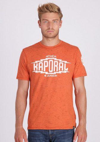 KAPORAL Marškinėliai su stylisher Relief-Aufsc...