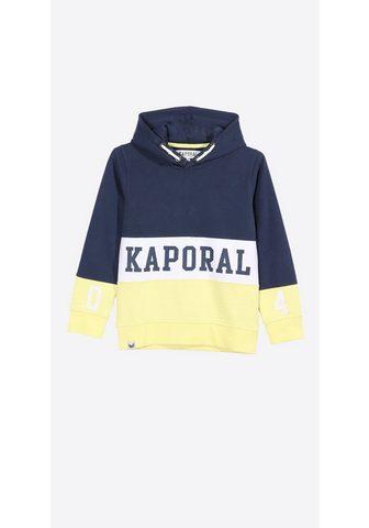 Пуловер с капюшоном с Markenschriftzug...