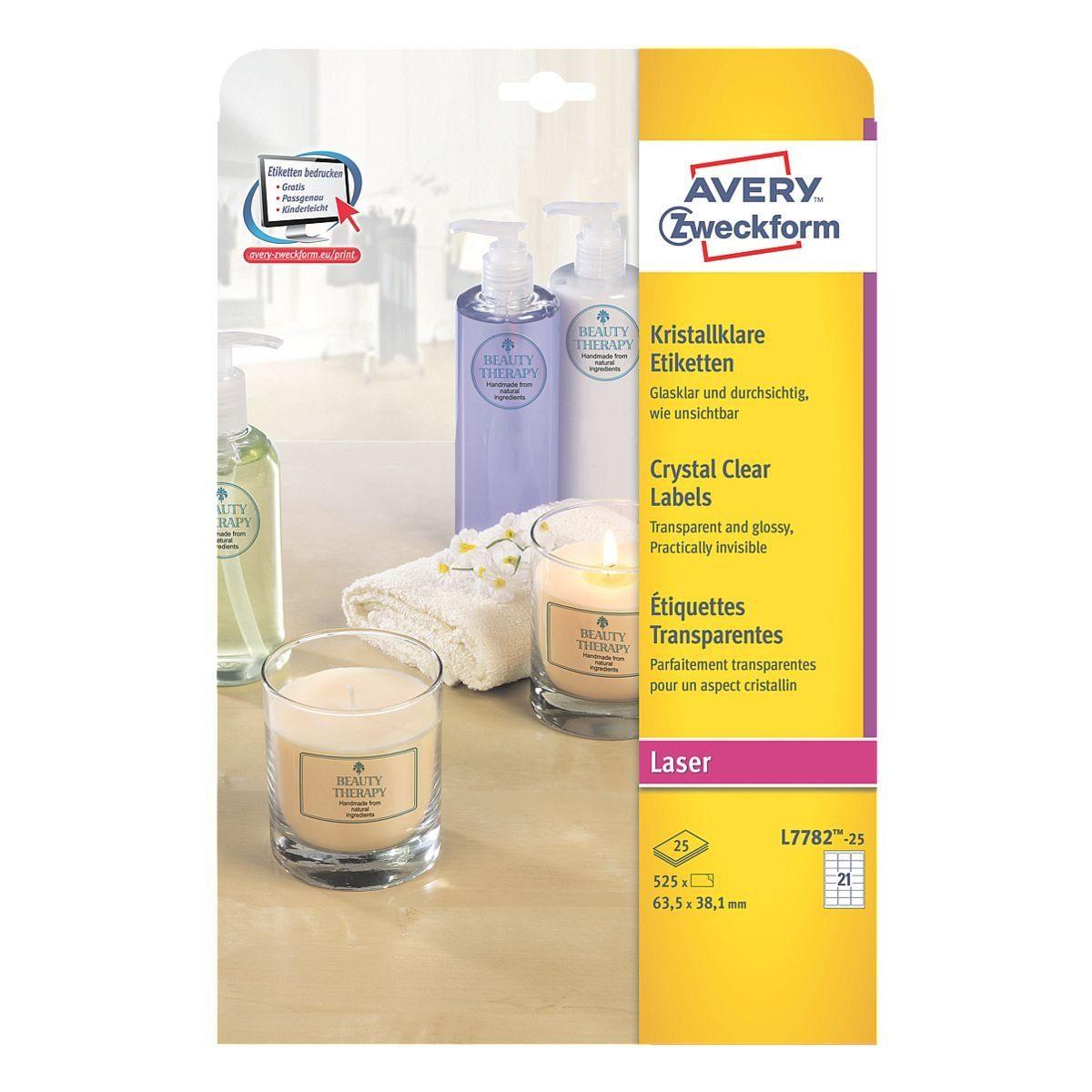 Avery Zweckform 525er-Pack Folien-Etiketten »L7782-25«