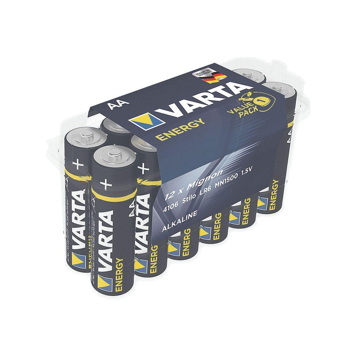 Varta Batterien »Energy« Mignon / AA / LR06