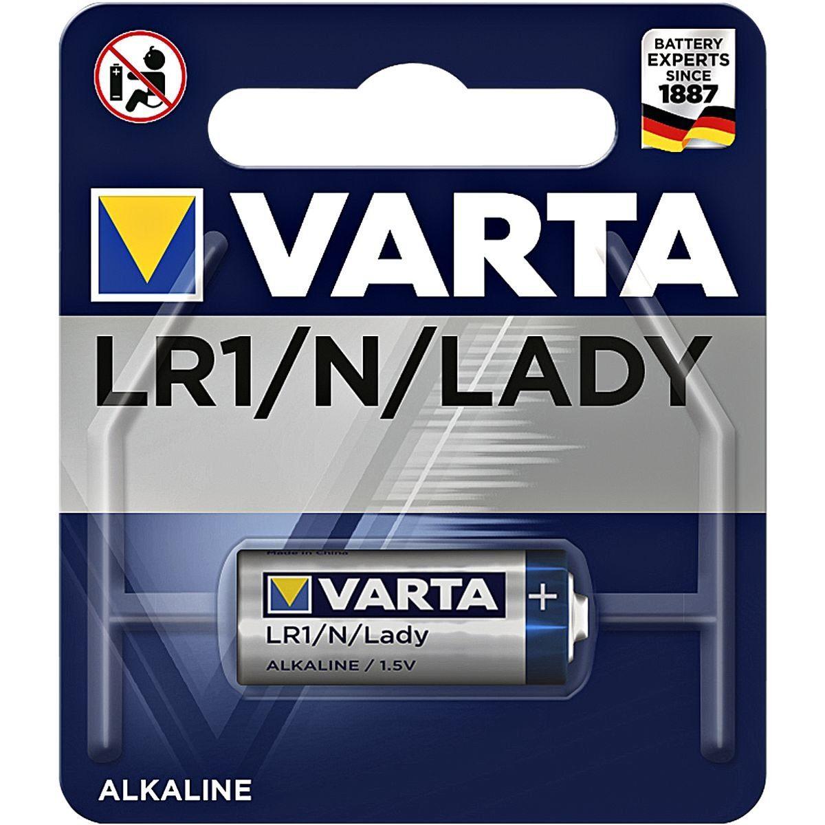 Varta Batterie »Professional Electronics« Lady / LR1