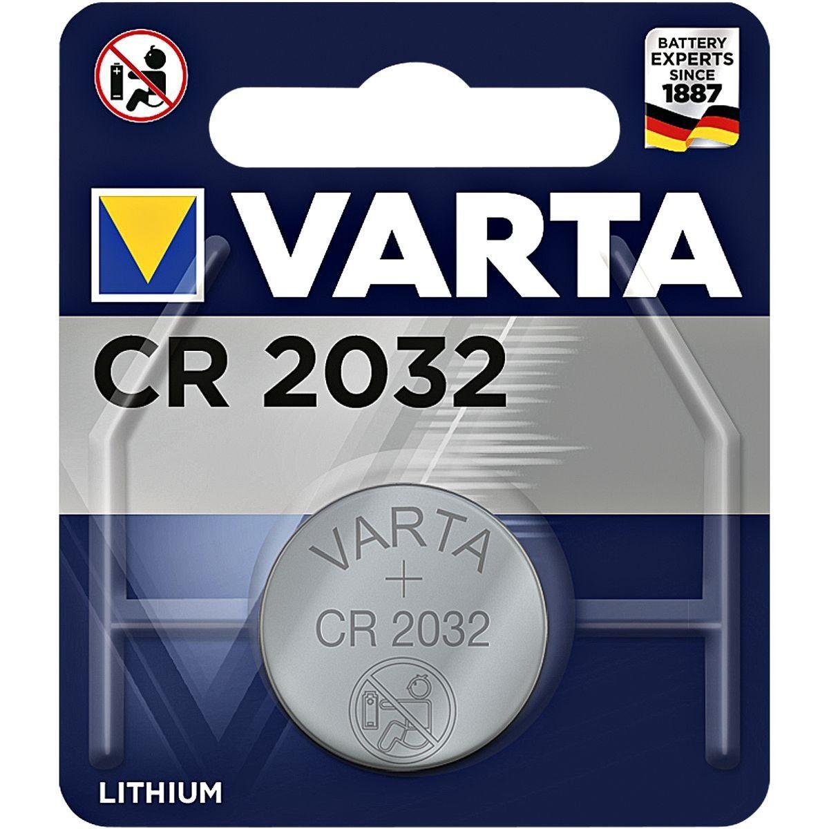 Varta Knopfzelle »Electronics« CR2032