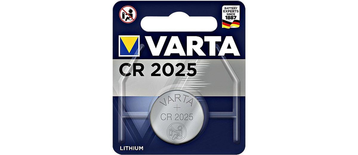 Varta Knopfzelle »Electronics« CR2025