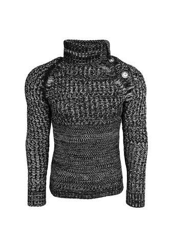 RUSTY NEAL Megztinis aukštu kaklu im Casual-Look