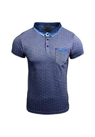 RUSTY NEAL Polo marškinėliai su Punkten
