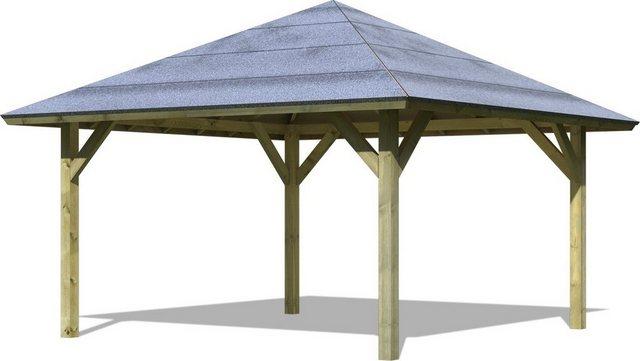 Karibu Holzpavillon Holm 1