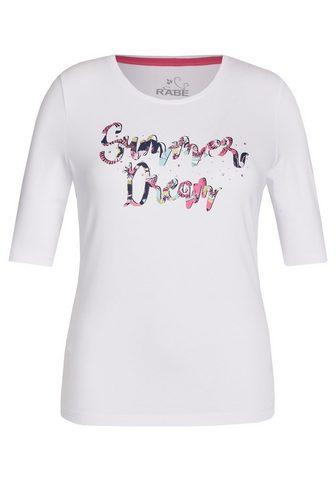 RABE Palaidinė su Front-Print ir Marškinėli...