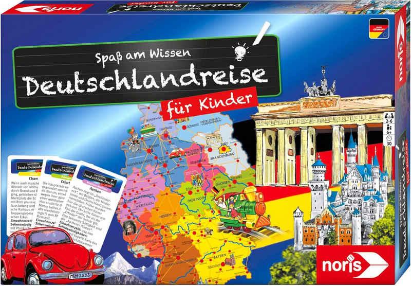 Noris Spiel, Quizspiel »Spaß am Wissen - Deutschlandreise für Kinder«
