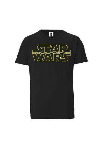 LOGOSHIRT Marškinėliai su puikus Star Wars-Print...