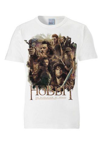 LOGOSHIRT Marškinėliai su coolem raštas »The Hob...