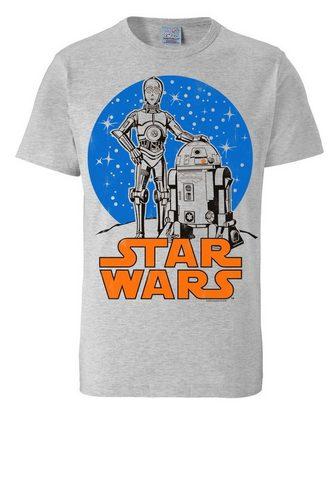 LOGOSHIRT Marškinėliai su puikus raštas »R2-D2 &...