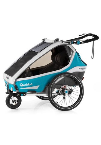 QERIDOO Fahrradkinderanhänger »KIDGOO 2 SPORT«...