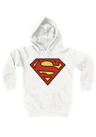 Кофта с капюшоном с стильный Superman-...