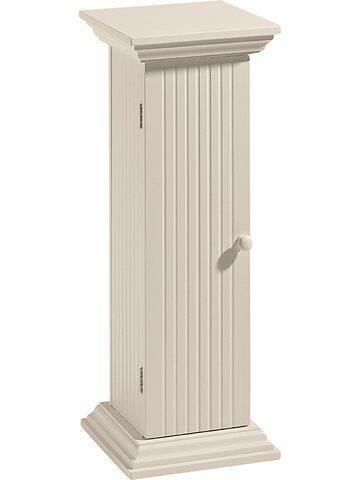 Säulenkommode in creme