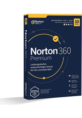 Norton 10 Geräte 75 GB Cloud-Speicherplatz (D...